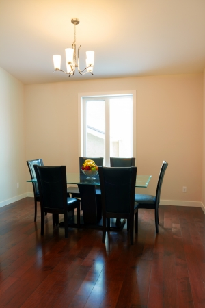 Inter design of dining room in a new house Stock Photo - 17533141