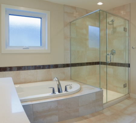 Inter design of a bathroom  in new house Stock Photo - 17687187