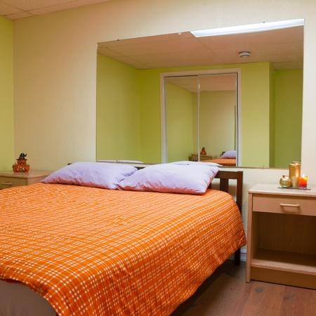Bedroom Interior Design Mit Möbeln In Ein Neues Haus. Standard Bild    18151532