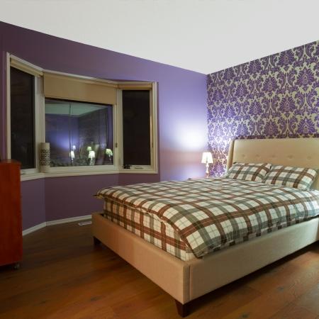 Romantic bedroom interior design photo