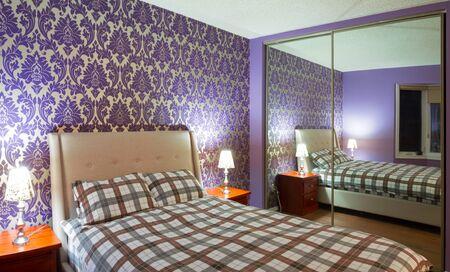 Romantic bedroom inter design Stock Photo - 18172465