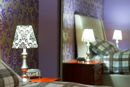 Romantic bedroom interior design Stock Photo - 18205287