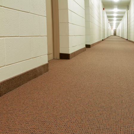 office space: Modern Hallway in new building