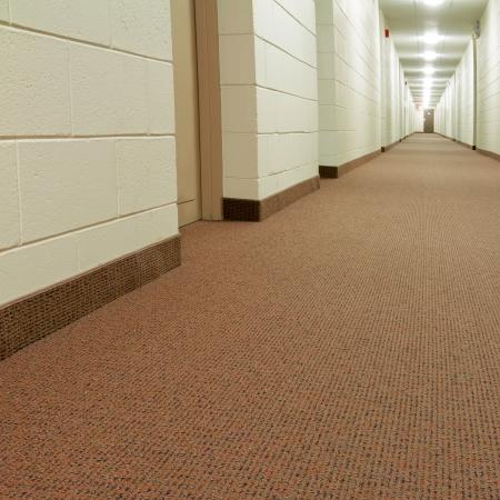 design office: Modern Hallway in new building