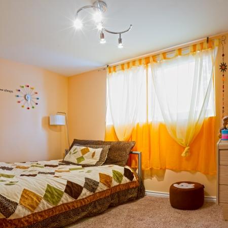 Childrens living room interior design photo