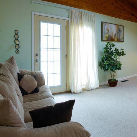Interior design in a new house photo
