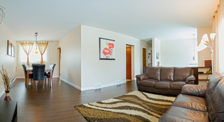 新しい家のリビング ルームのインテリア デザイン