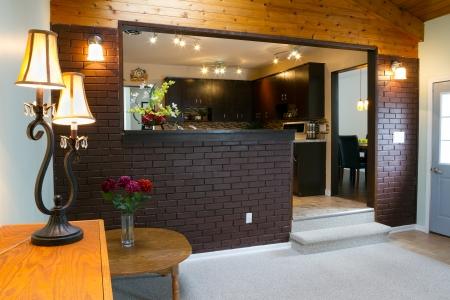 Basement and kitchen Interior design Stock Photo - 19294640