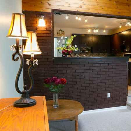 Basement and kitchen Interior design  Stock Photo - 19361776