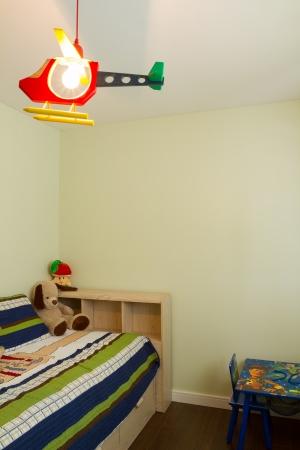 Kinderen woonkamer interieur