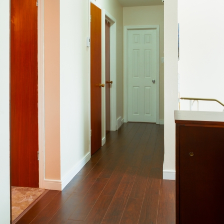New house empty hallway inter Stock Photo - 20386069