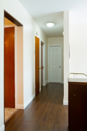 New house empty hallway interior Stock Photo - 20386072