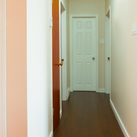 New house empty hallway interior Stock Photo - 20386063