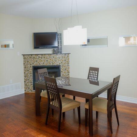 Dining room interior design photo