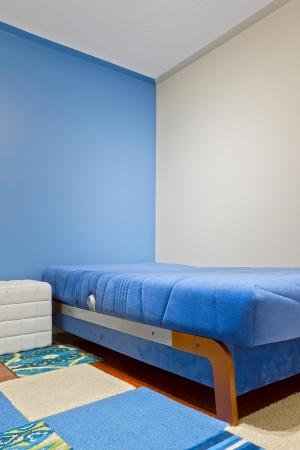 Binnenlands ontwerp van Kinderkamer Stockfoto