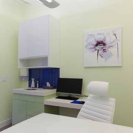 Healthcare clinic interior design photo