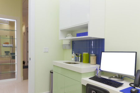 Doctors office interior design photo