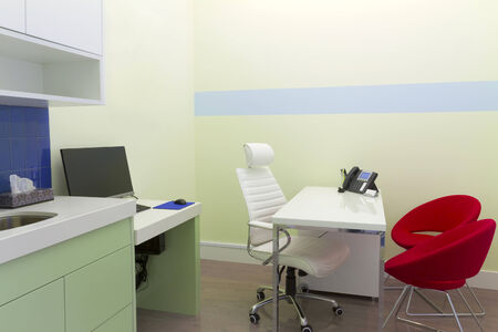 Healthcare clinic interior design Stock Photo