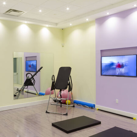 Gym Interior Design at the Clinic photo