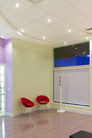 interior design: Empty Room Interior Design Stock Photo