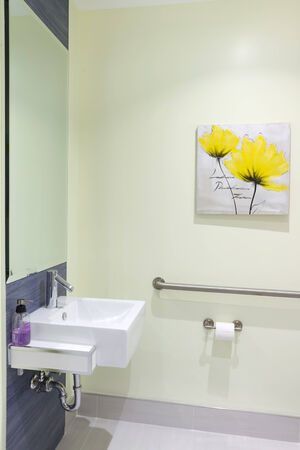 Toilet Interior Design in a new house photo