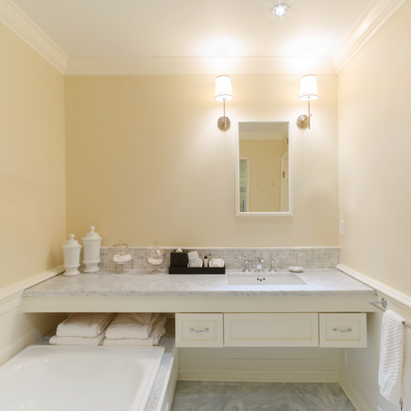 ambry: Interior of a bathroom  in new house