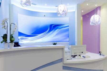 interior design: Reception Interior Design