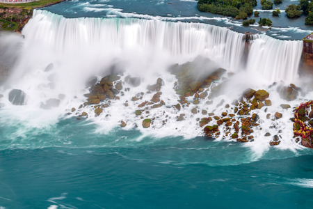 Niagara Falls view from Skylon Tower. Canada. photo
