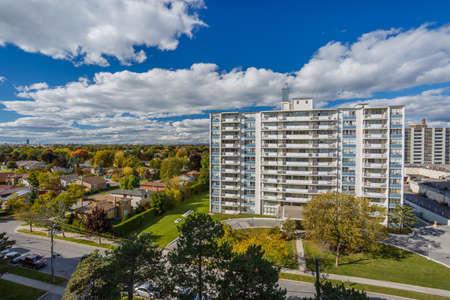 highriser: Apartments buildings Toronto view Editorial