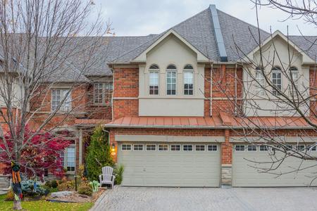 Townhouse or condominium in Canada Stockfoto