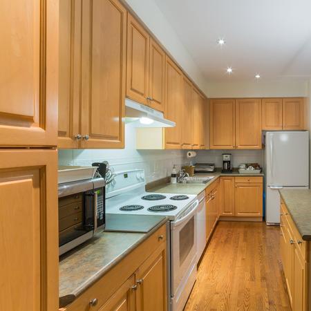 Interior design di cucina moderna