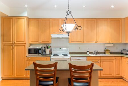Cocina Diseño de Interiores Foto de archivo - 37614500