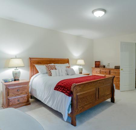 Bedroom modern interior design Stock Photo