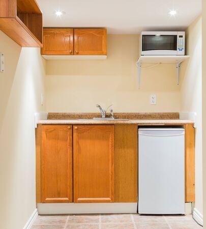 Interior design of modern kitchen photo