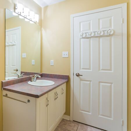 ambry: Bathroom Interior Design Stock Photo
