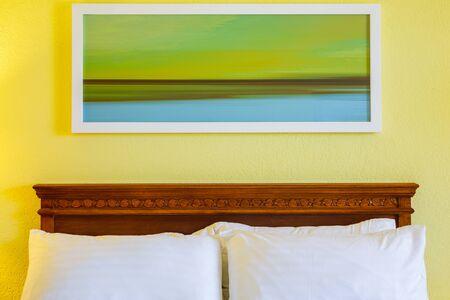 bedroom design: Bedroom modern design with furnishings in hotel