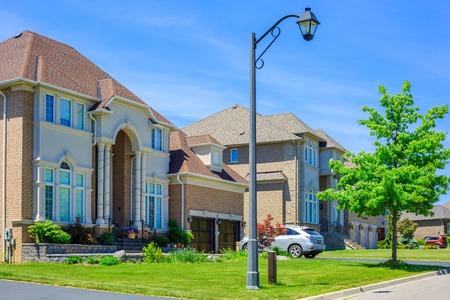 Custom built luxury house in the suburbs of Toronto, Canada. Imagens