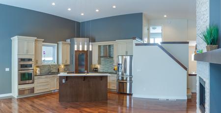 warm home: Modern Kitchen Interior Design