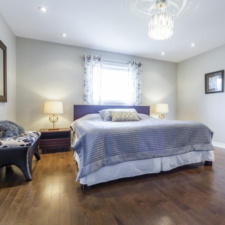 Bedroom Interior design 免版税图像
