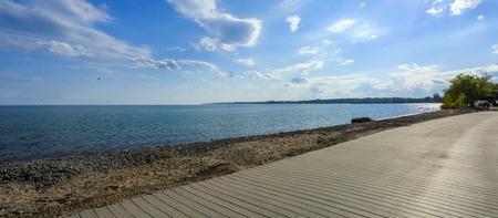 Beach Ontario Lake Banco de Imagens