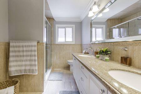 Bathroom Interior Design Banco de Imagens