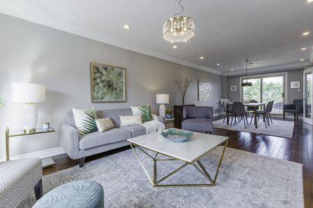 Living Room Interior Design Banco de Imagens