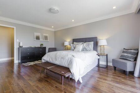 Bedroom interior design Banco de Imagens