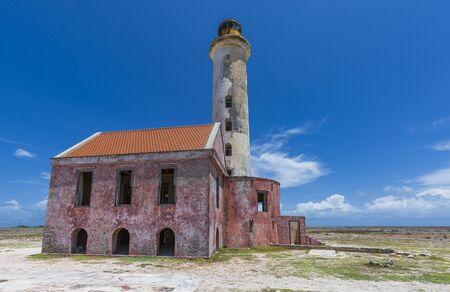 Old lighthouse on Klein Curacao
