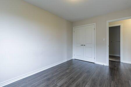Empty Bedroom in a New Condo