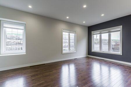 Beautiful empty living room interior design