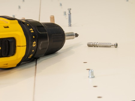 marking up: marking, drilling and production of furniture, accessories and tools close up