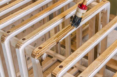 Garden Furniture Varnish beautiful garden furniture varnish restorer restoring a wooden