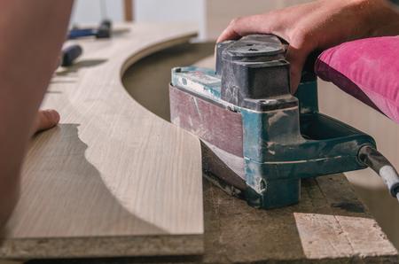 sander: processing parts sander