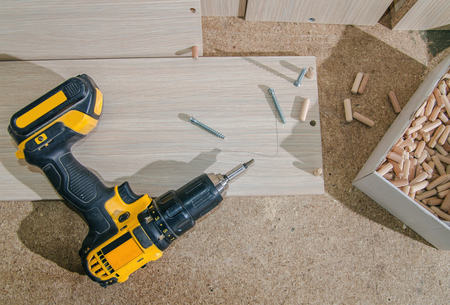 Assembling of furniture power tools